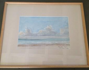Seaside watercolour