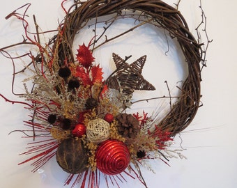 Holiday Wreath shooting star