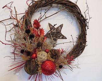 Couronne Noël L'Étoile Filante
