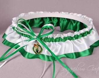 Boston Celtics Wedding Garter