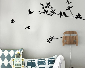Tree and Bird Wall Decal