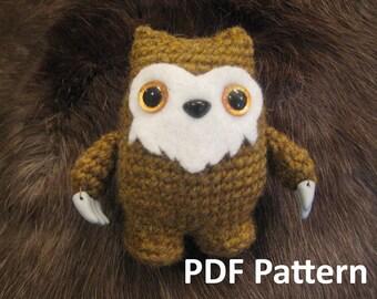 Owl Bear Crochet Amigurumi Pattern
