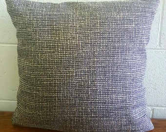 Exclusive Tweed Design Cushion Pillow Cover by Peacock and Penny.  40cms x 40cms Classic Style. Superb Quality. One only.