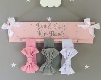 Hair bow holder bow organiser bow holder bow organiser hair band holder hair band organiser bows and bands