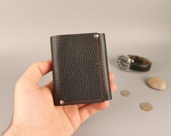 Leather wallet, PERSONALIZED, Mens wallet,  Womens Wallet, minimalist wallet, leather card wallet, Leather Purse,  slim wallet