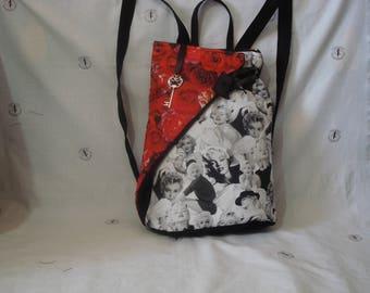 Marilyn's Backpack-roses
