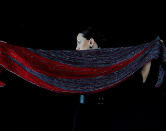 SALACIOUS Shawl Knitting Pattern PDF
