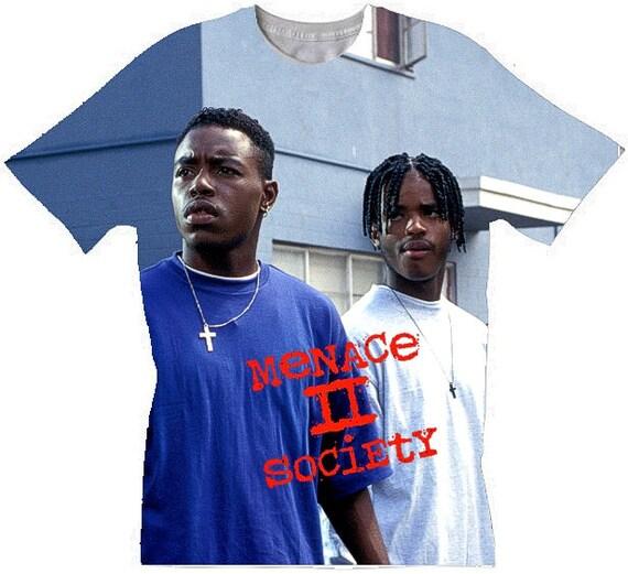 Dont be a menace sublimation T shirt 1l8A6HR