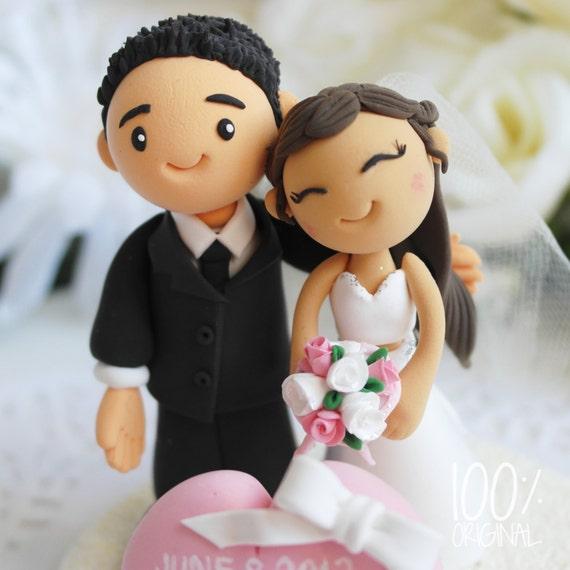 Korean Wedding Cake Topper