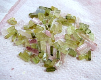 15 Grame beautiful Natural mix Tourmaline crystals from Afghanistan