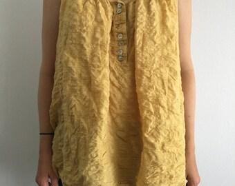 Yellow Tunic (Size Medium)