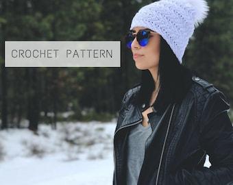 The Keizer Beanie Pattern // Crochet Pattern // Instant Download // Amethyst & Cro // Crochet Beanie Pattern