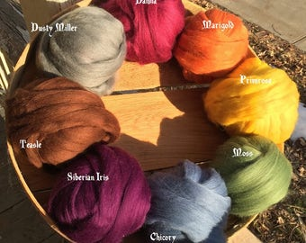 Woolen Floss: Handspun Embroidery Thread
