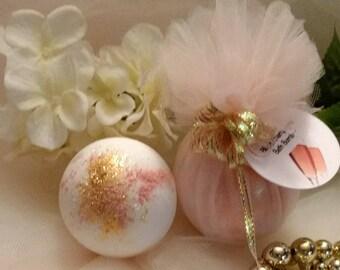 Blush Champagne Bath Bomb~Bridal Shower Favors~Bridal Shower Bath Bombs~Proposal Box Favors~Champagne Shower Favors~Best Seller~