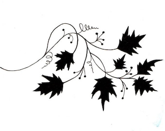 Lavinia Stamps Clear Rubber Stamp - Vine