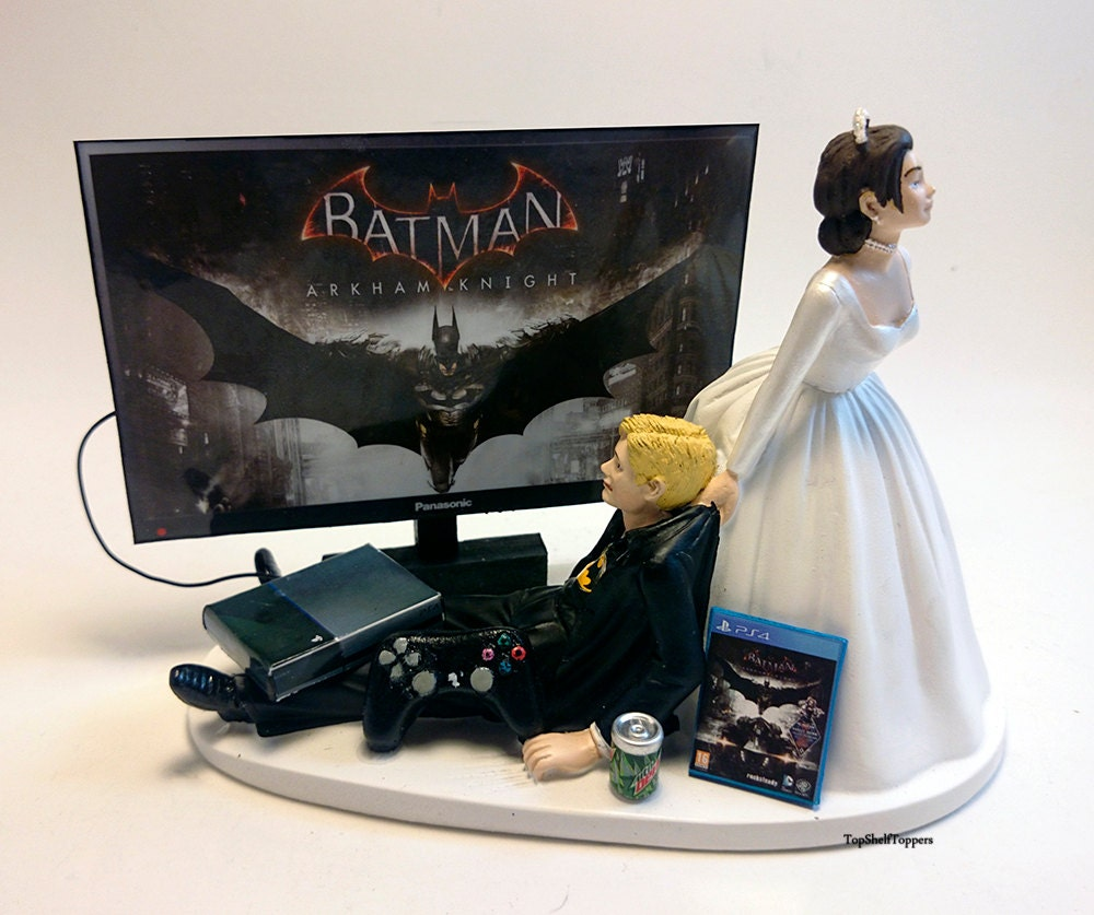 wedding cakes toppers funny wedding cake topper bat and groom 25734