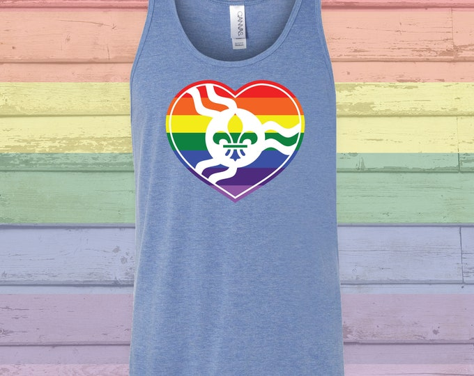 Featured listing image: STL Rainbow Heart Tank