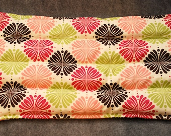 Corn Bag Microwavable, Microwave Heat Pack, Back Pain, Corn Heating Pad Set, Cold Pack, Gift for her -- Lumbar 10x16 -- Whimsy - LAST ONE