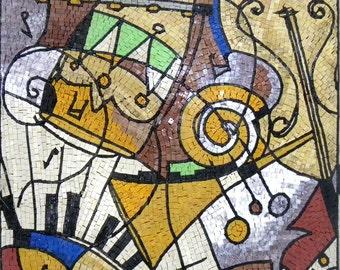 Musical Modern Mosaic Design
