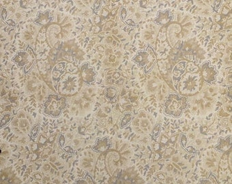 Paisley Jacquard Fabric Design Cloth Pillow or Decorator Lampshade Material French