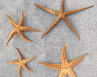 Moving Starfish made from Olive wood