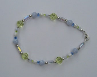 Sterling Silver Spring Colors Bracelet
