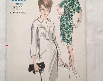 RARE**Vintage Vogue 6017, 1960s Vogue Pattern Size 12