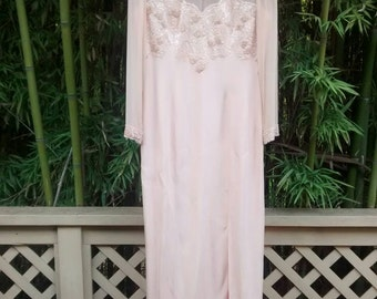 Sale! Princess Buttercup: Oleg Cassini Silk Beaded Evening Gown