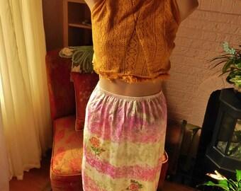 Hippie Slip Skirt BOHO Slip Skirt Festival Skirt