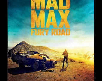 Mad Max Fury Road - 11x17 Framed Movie Poster
