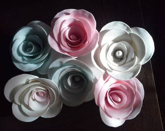 Cold Clay Rose
