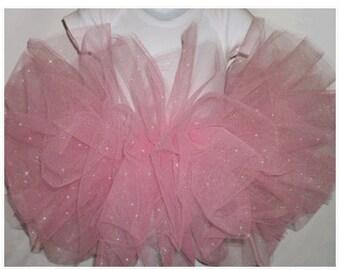 Glitter Tutu , Pink Glitter Tutu Skirt , Pink Glitter Baby Tutu , Pink Glitter Girls Tutu , Pink Glitter Tutu Sizes Baby-Girls, Pink Tutu