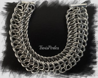 10 Chain Maille bracelet - Chainmaille bracelet