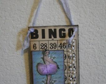 Ballet Altered Bingo Card