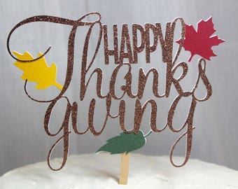 thanksgiving toppers, thanksgiving pie topper, thanksgiving pie, pie topper, friendsgiving, friendsgiving decor, happy thanksgiving topper