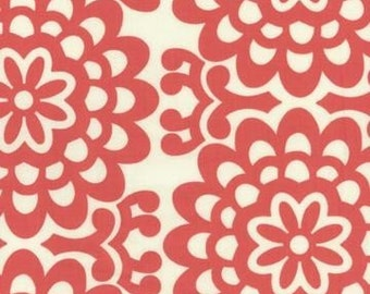 Sale- Cherry Wallflower fabric by Amy Butler
