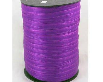 Purple 6 mm wide organza Ribbon