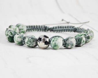 Usa soccer jewelry college football soccer ball jewelry for boy bracelets sports jewelry soccer bracelet football jewelry soccer accessories