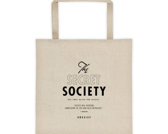 The Secret Society Tote bag