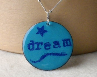 Enamel Turquoise Dream Necklace