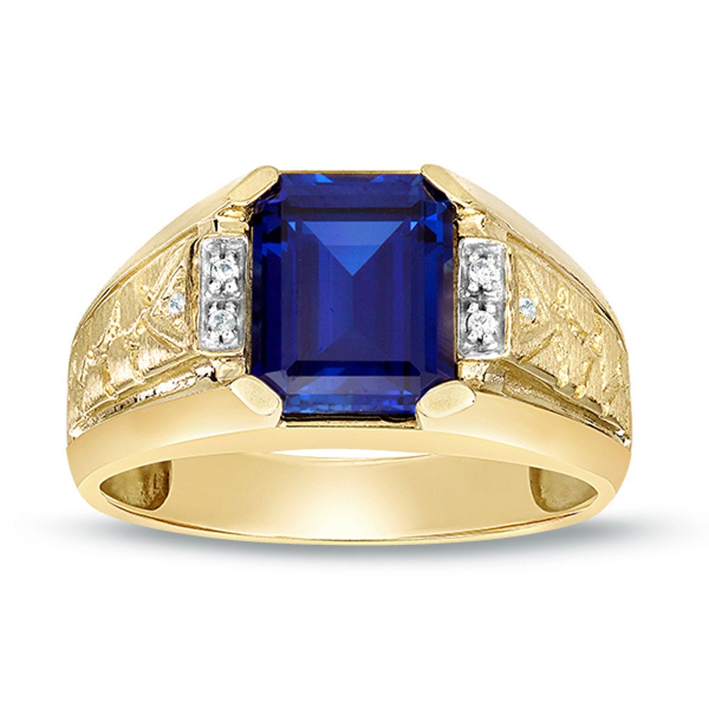 with sapphire ring yellow jewellery img o and brilliants gold artelioni