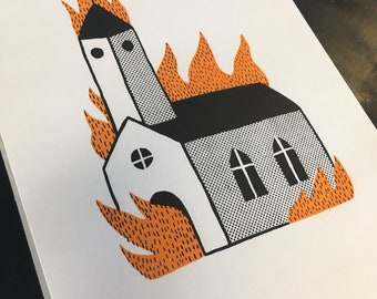 Burning Church #1