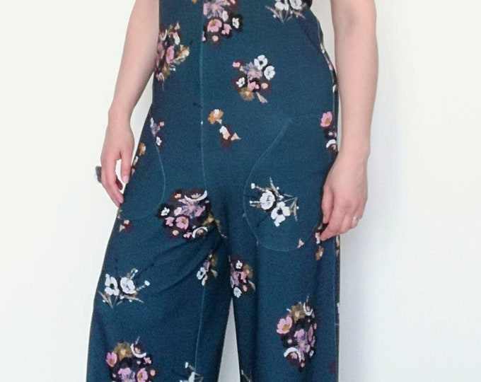 Jumpsuit, Womens Clothing, party dress, Jumpsuits & rompers, Handmade clothes, cotton Jumpsuit