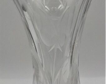 Gorgeous- Elegant and Chic - Cut Crystal Bud Vase - Vintage - Ornate