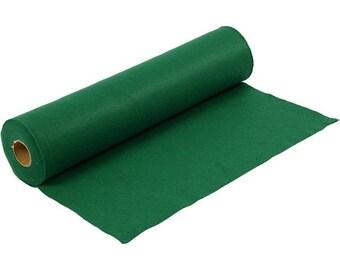 Leaf green, synthetic felt, dimension: 100 cm * 45 cm, thickness 1.5 mm 180-200 g/m2
