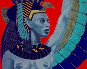 Isis the Egyptian Goddess