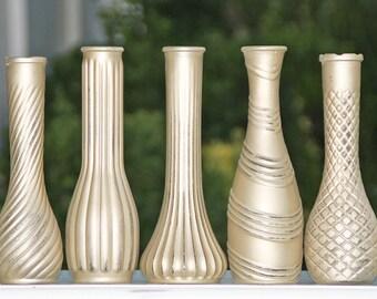 Gold Bud Vase Made to Order