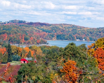 Grand Traverse East Bay in the Fall