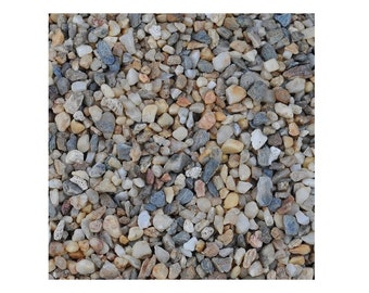 One Pound Miniature Fairy Garden Mini River Rocks, Assorted Rocks For Landscaping Fairy Gardens, Create Fun Riverbeds Or Other Landscaping