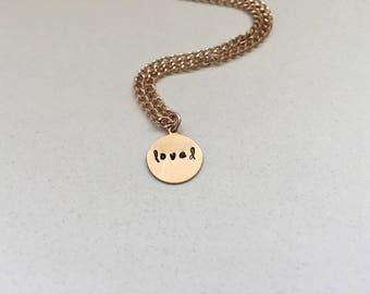 Loved Necklace (In Love Collection)